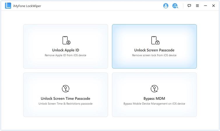 Select Unlock Mode