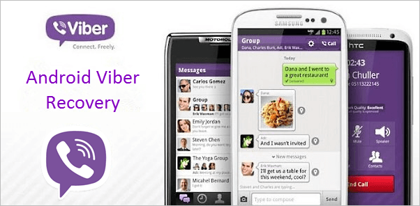 Android Viber Recovery