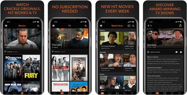 free movie app for iphone