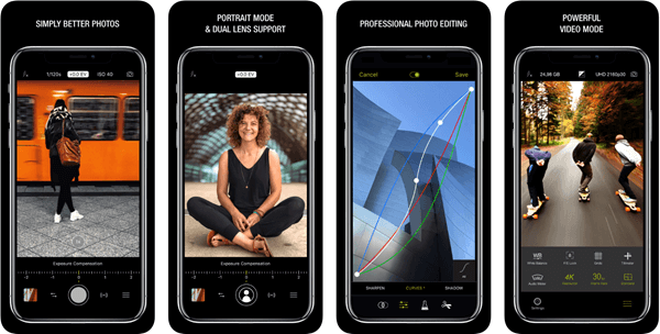 Best portrait camera app for iphone free
