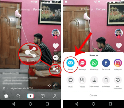 download videos from tiktok to android
