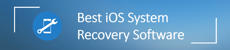 best ios system recovery software