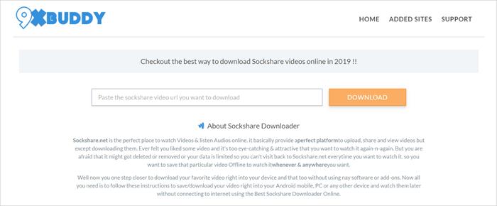online sockshare downloader