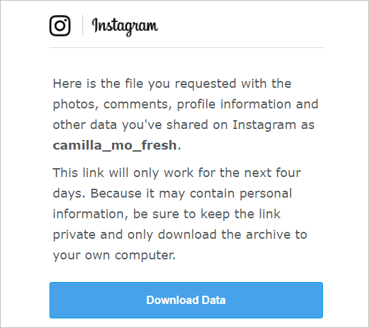 download data from instagram