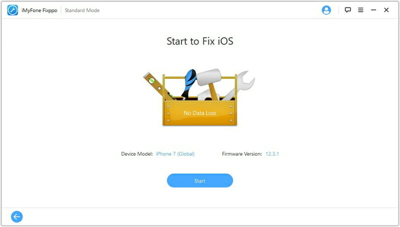 start to fix ios