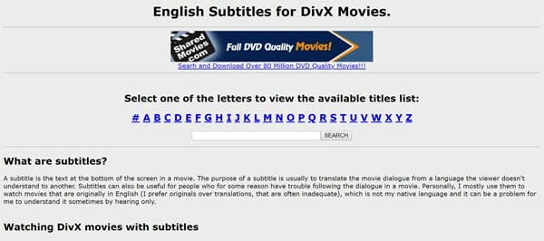subtitles download site