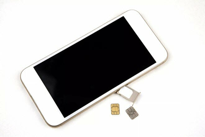 check iphone unlock status with sim card