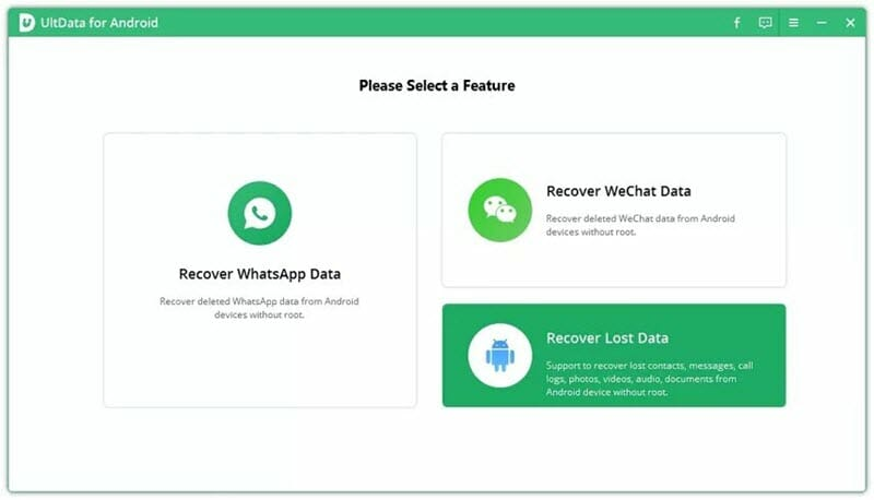 recover lost data android